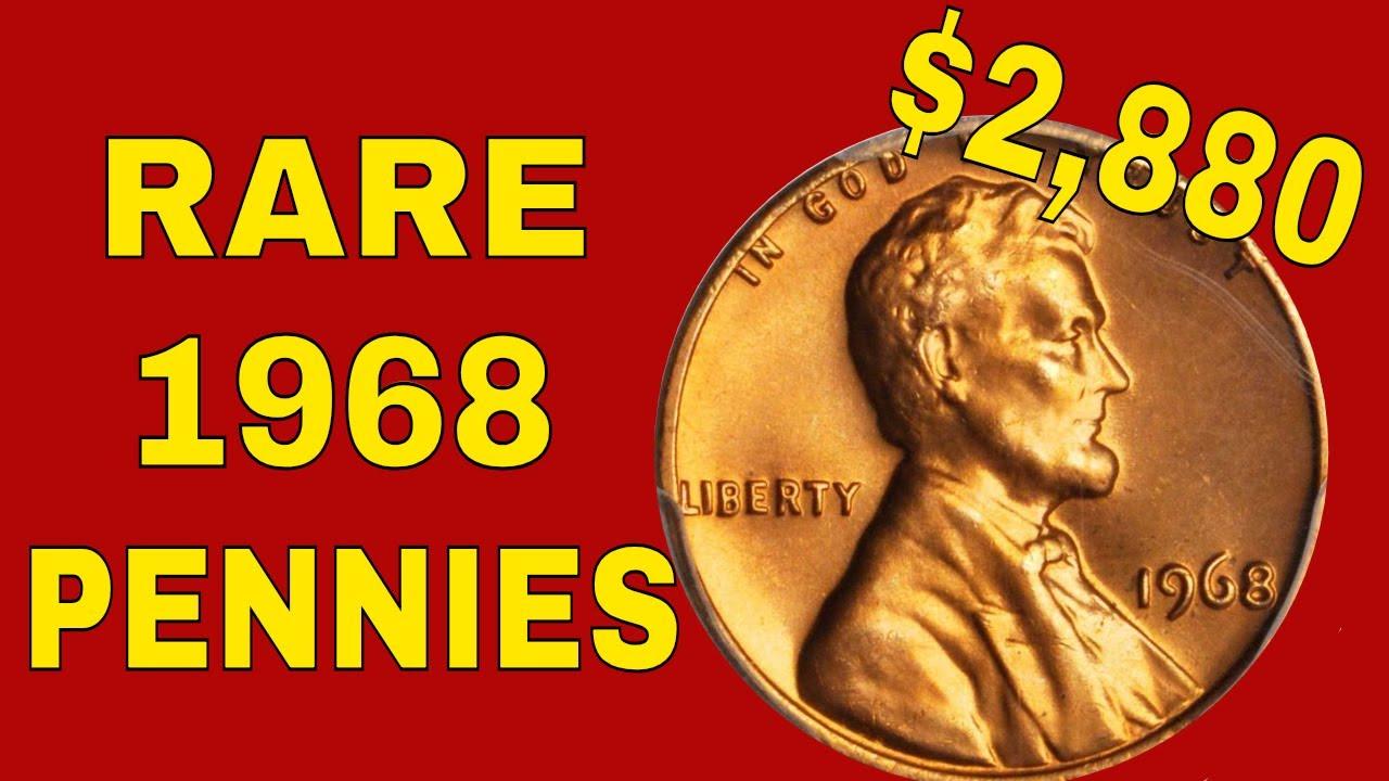 Super Rare 1968 Pennies Worth Money Penny Value