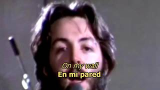 Two of us - The Beatles (LYRICS/LETRA) [Original] (+Video)