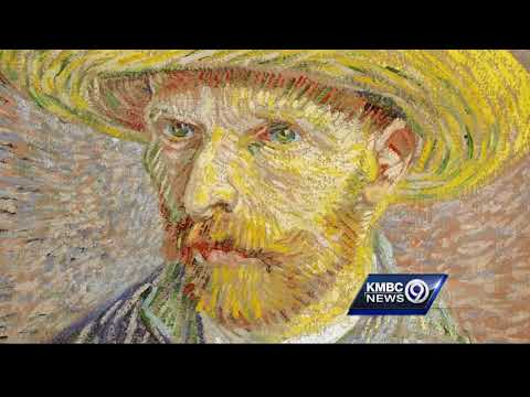 Look close - grasshopper found inside decades old Van Gogh painting at the Nelson