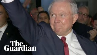 Jeff Sessions has left the building