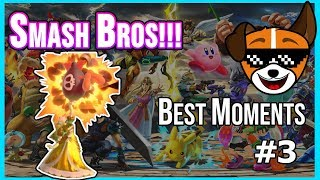 HILARIOUS Highlights Reel  |  Best Moments Streaming Super Smash Bros Ultimate [Best Moments #3]