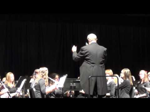 Auld Lang Syne - Poquoson High School Band (Brandon Sklute, Flugelhorn solo)