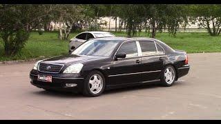 Toyota Celsior v8 – Японский Mercedes!