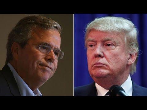 Trump & Bush spar over speaking Spanish in US