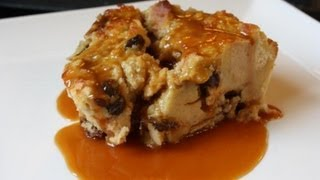 Banana Bread Pudding.