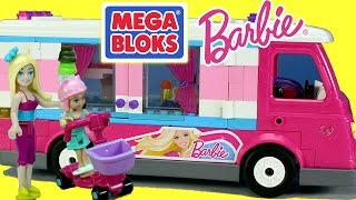 Mega Bloks Build 'n Play Barbie And Chelsea Luxe Camper Toy Building Set