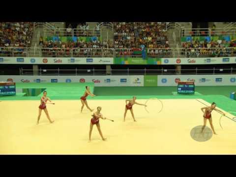 Republic of Korea (KOR) - 2016 Olympic Test Event, Rio (BRA) 3CL2HO Qualifications