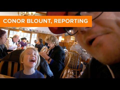 Conor Blount, Reporting