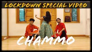 Chammo   Lockdown Dance Video   Om Tarphe ft Suyash Mirallu & Sanika Shinde   Housefull 4