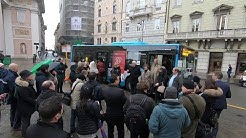 Trieste, ecco il nuovo bus navetta che collega piazza della Borsa al Porto vecchio