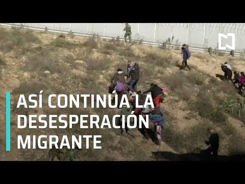 Caravana Migrante de Honduras salta cerca fronteriza - En Punto con Denise Maerker