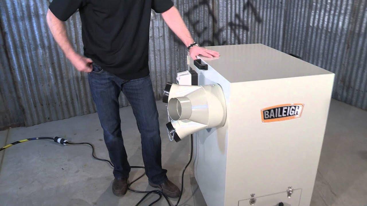 Baileigh Industrial Mdc 1800 Metal Dust Collector Metal