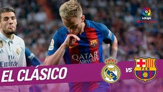 El clásico - golazo de rakitic (1-2) real madrid vs fc barcelona