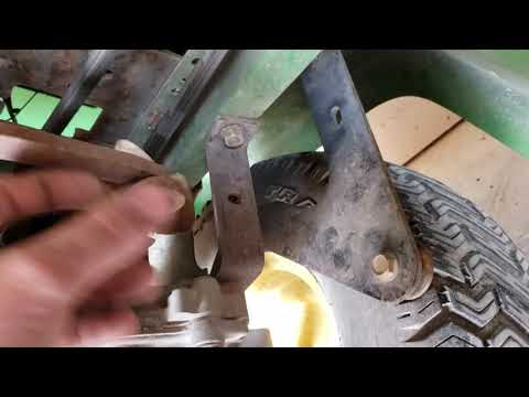 John Deere Stx38 Both Belt Replacements