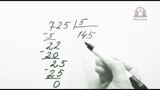 Математика   Деление в столбик на однозначное число