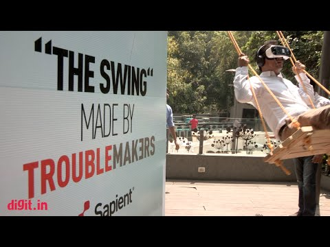 Samsung Gear VR experience on a real swing | Digit.in
