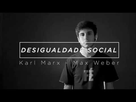 RAP DESIGUALDADE - WEBER E MARX