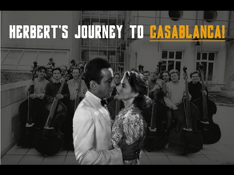 Herbert's journey to CASABLANCA by GEATLES (+ As Time Goes By !!)