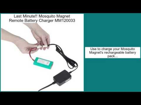Mosquito Magnet Remote Battery Charger MM120033 Review