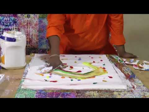 Parijoy Saha : World's fastest painter : Documentary 1