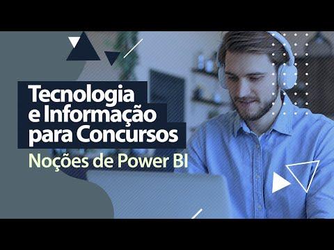Tecnologia e Informação - Noções de Power BI