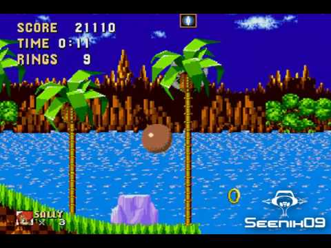 Sally  in Sonic 1
