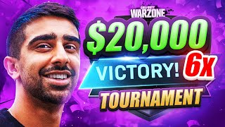 I WON ANOTHER $20,000 WARZONE TOURNAMENT! (6th Win)