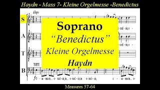 Haydn Kleine Orgelmesse Hob XXII 7 Benedictus Soprano
