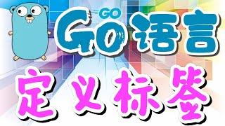 【Go语言中文入门教学】定义标签 - golang p.31