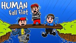 NIE ŁAP MNIE ZA ****! - HUMAN FALL FLAT  /w Gilathiss & YoshihitoMayoshe