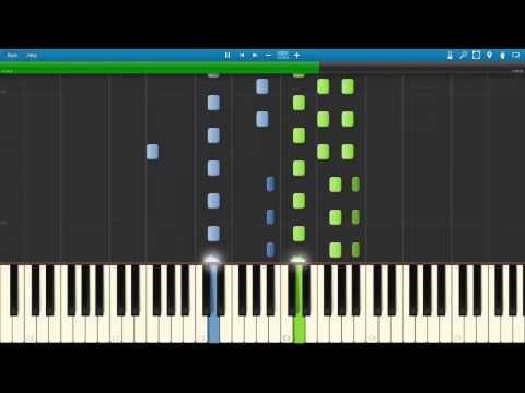 Two Trees   in a Time Lapse - Ludovico Einaudi ( MIDI / Synthesia / Tutorial )