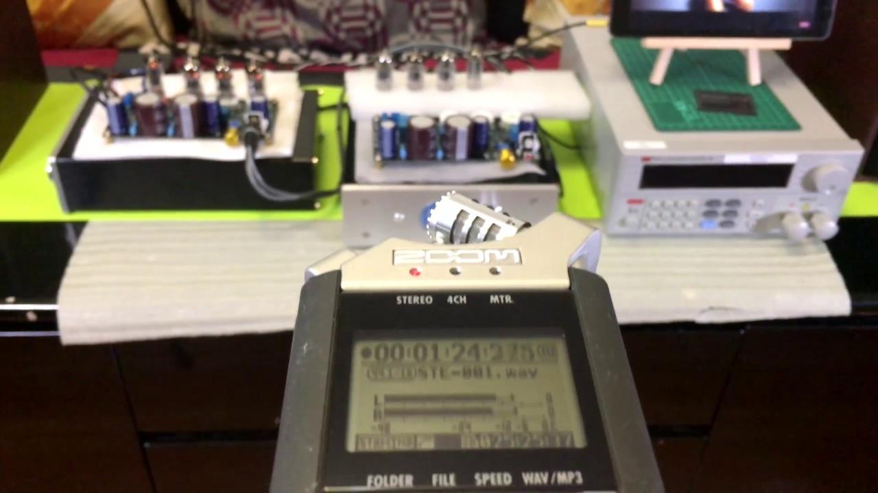 Marantz 7 Pre Amp Tube Circuit Module Audio Test Youtube