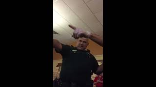 Girl fight at IHOP with coffee canisters! Sheriffs break up with verbal force and taser guns drawn!!