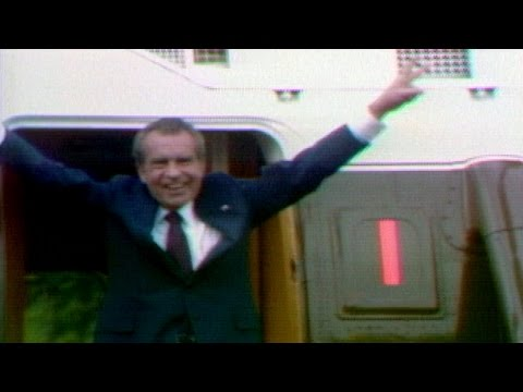 President Richard Nixon Resigns - August 9, 1974