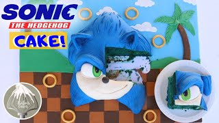Sonic The Hedgehog CAKE! | Thalias cakes