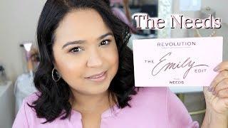 "RESEÑA & SORTEO de la PALETA ""THE NEEDS""  | Revolution x Emily ♦ consaboraKaFé"