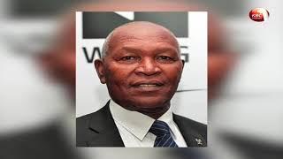 Kenya's ambassador to Austria Hassan Wario and two other senior spo...
