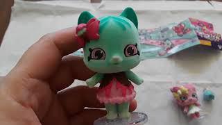 SHOPKINS SHOPPET SUGAR SWIL & MINTY PAWS UNBOXING