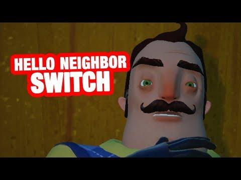 HELLO NEIGHBOR SWITCH | Hello Neighbor Act 3