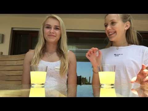 Lemon Juice Challenge W/Emilia