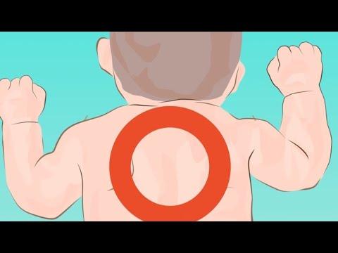 Запомни эту точку на спине ребенка. Это знание может спасти жизнь!
