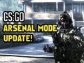 Counter Strike Global Offensive Gameplay - CSGO ARSENAL MODE! New gameplay footage!