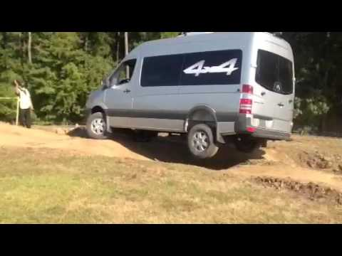 Mercedes Benz 4X4 Sprinter Van Motorhome Off-Road