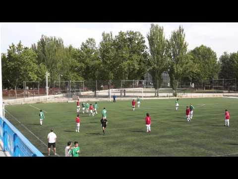 San Fernando Escolapios (0)-(1)Tetuán 12/10/2013 2ª parte fútbol