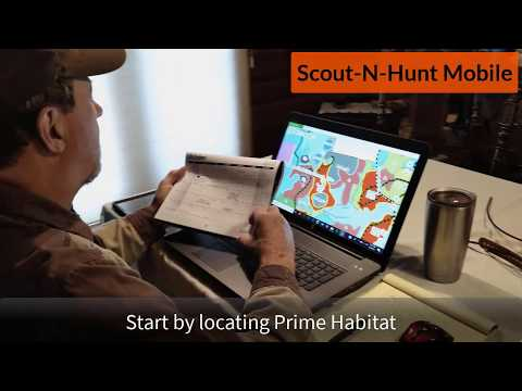 Scout-N-Hunt Mobile Grouse Habitat Maps