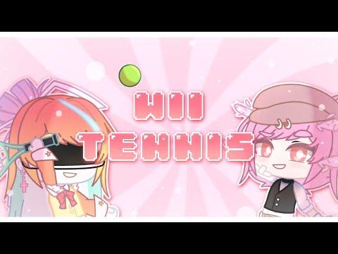 ? | Wii tennis meme| Gacha Club