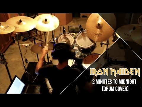 Iron Maiden 2 Minutes to Midnight (Drum Cover) Marcus Riolo