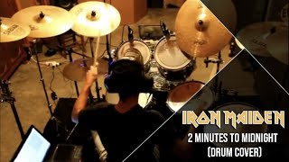 Iron Maiden 2 Minutes to Midnight (Drum Cover) Marco Riolo