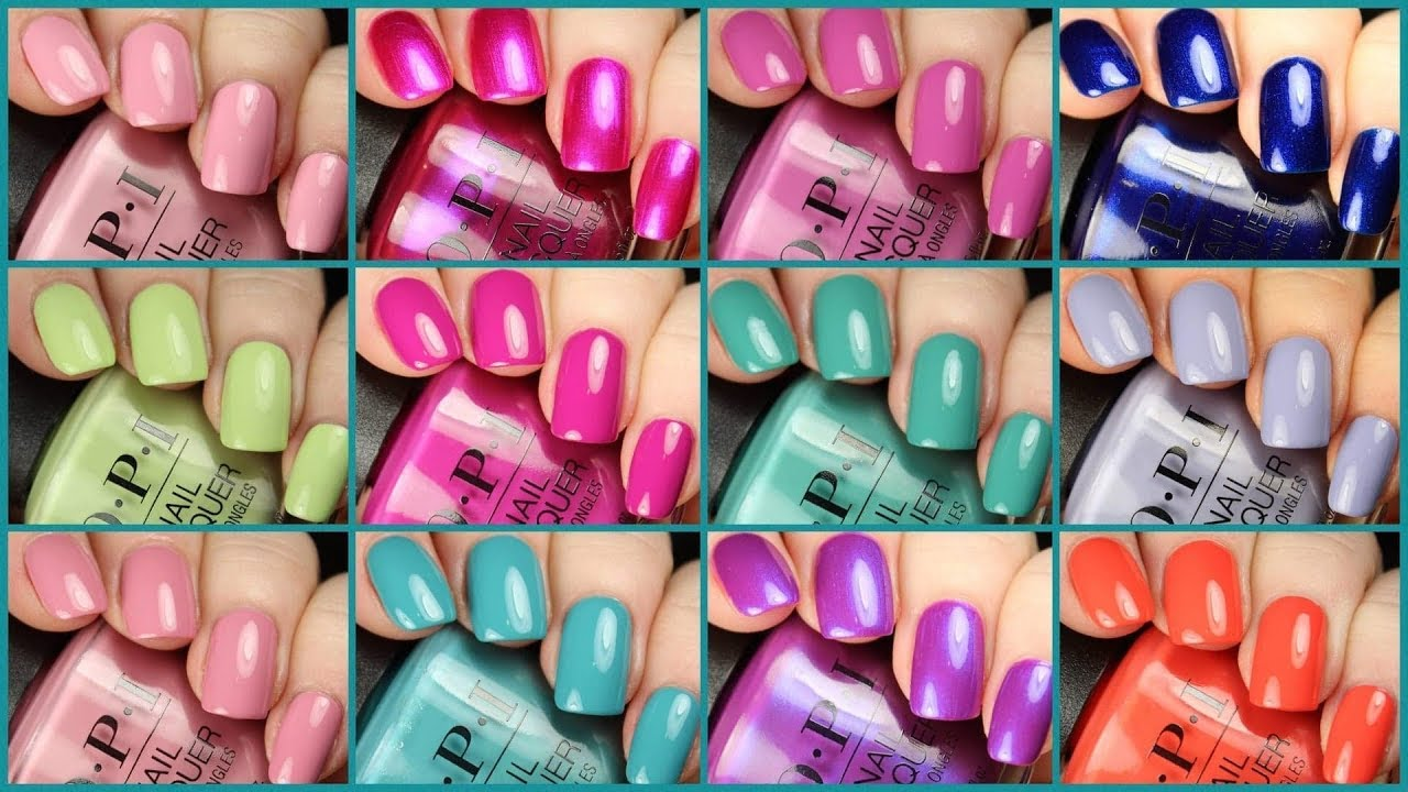 Opi Tokyo Spring Summer 2019 Collection Live Application Review
