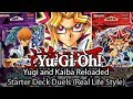 Yugi and Kaiba Starter Deck Reloaded Duels (In Real Life For Once)